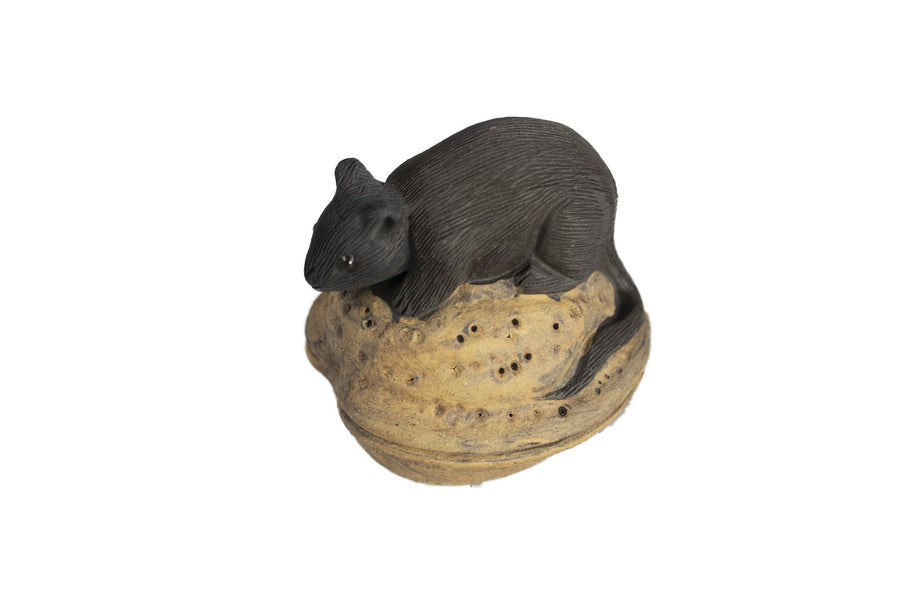 yi xing clay, yi xing clay tea pet, purple clay, purple clay tea pet, year of the rat