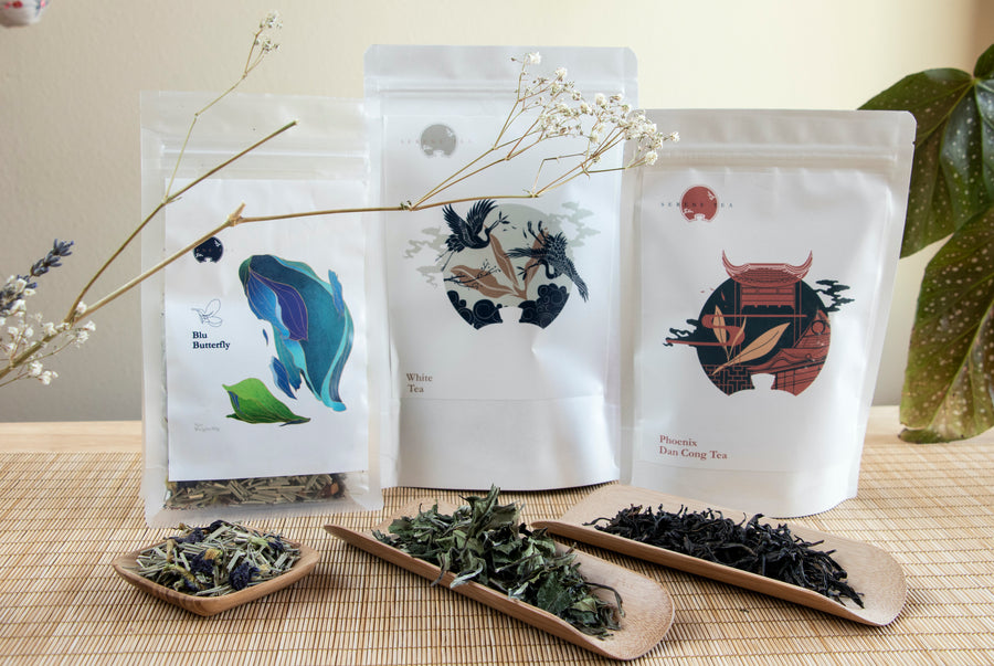 Tea Sommelier's Sample box with FREE SHIPPING!