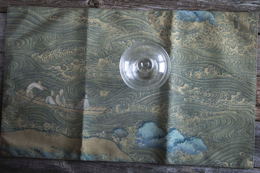 tea table cloth, tea accessory, gong fu cha accessory, gong fu cha, cha xi, 茶席