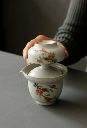 travel tea set, tea set, travel Gaiwan, Gaiwan