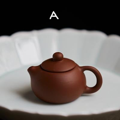 tea pet, yi xing clay tea pet, tea accessory, hand made tea pet, mini yi xing clay teapot