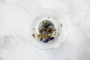 Caffeine free tea. Herbal Tea. Butterfly pea flower tea. Ice tea. Loose leaf tea.