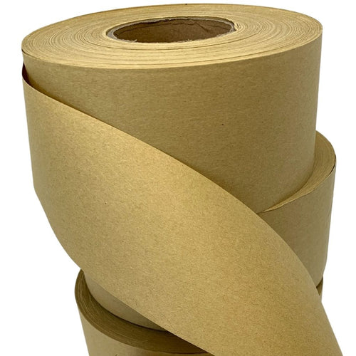 Packaging Tape - Water activated kraft paper tape - Plastic free