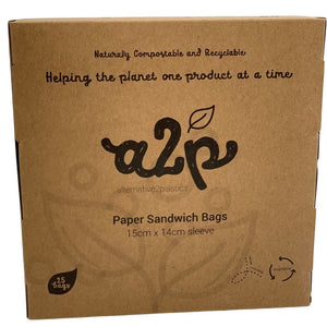 A2P Paper Sandwich Bags Sleeve