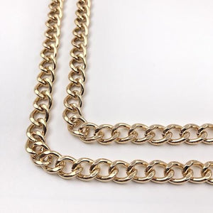 Mister T. Chain Gold Samsung Galaxy S8 Plus