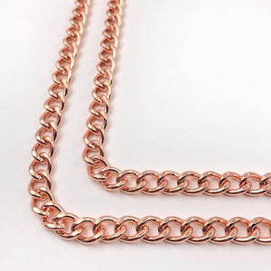 Handykette Mister T. Chain Roségold iPhone X /Xs