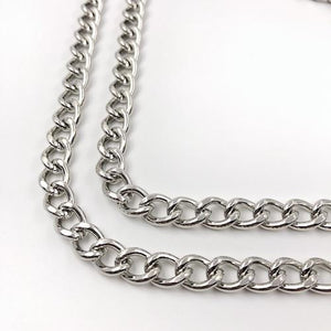 Handykette Mister T. Chain Silber Huawei Mate 20