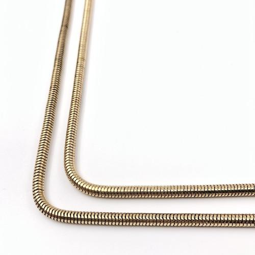 Snake Chain Gold Single