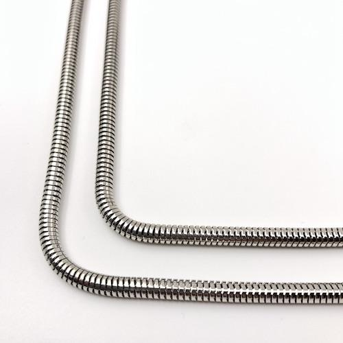 Snake Chain Silber Single