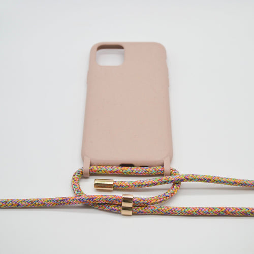 Biodegradable Phone Necklace Flower Field