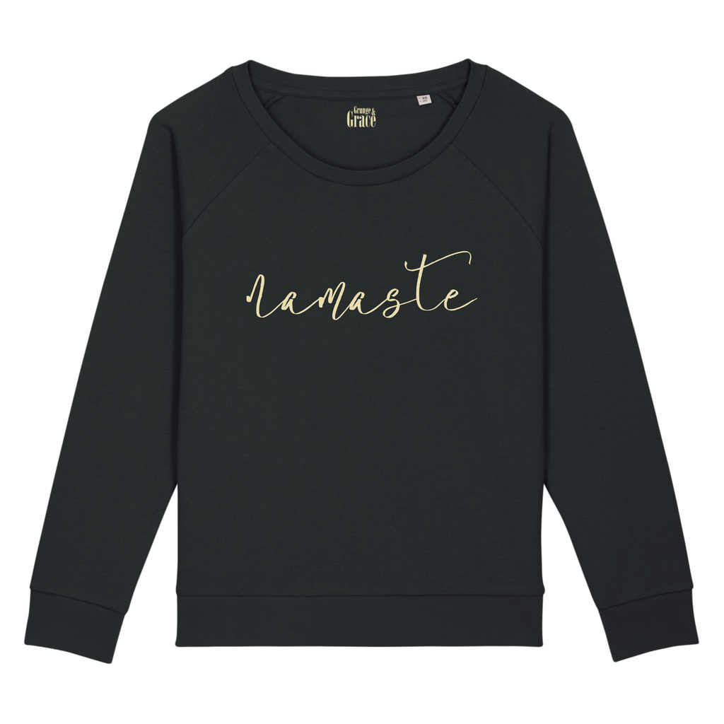 Namaste Sweater Black