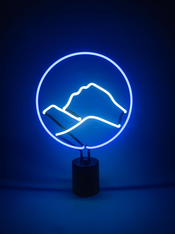 Mount Everest, Neon Light - myNeon