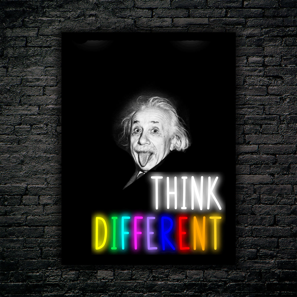 Think Different - Neon x Art Sign