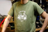 T-Shirt Cycles Get Lost Homme