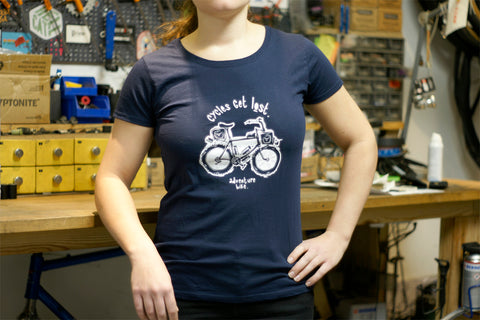 T-Shirt Cycles Get Lost Femme