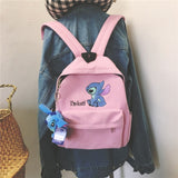 Stitch Backpacks Student Bags Mini