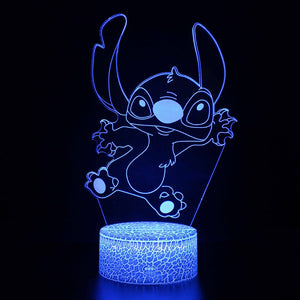 Stitch 3D Light LED