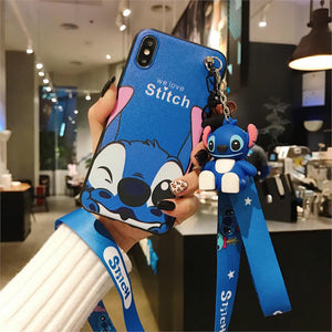 SUPER CUTE STITCH  PHONE CASE