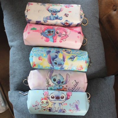 Stitch Style Anime Cosmetics Bags
