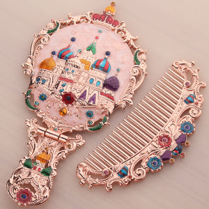 Handle small Princess mirror