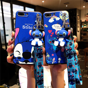 SUPER CUTE STITCH PHONE CASE For Samsung