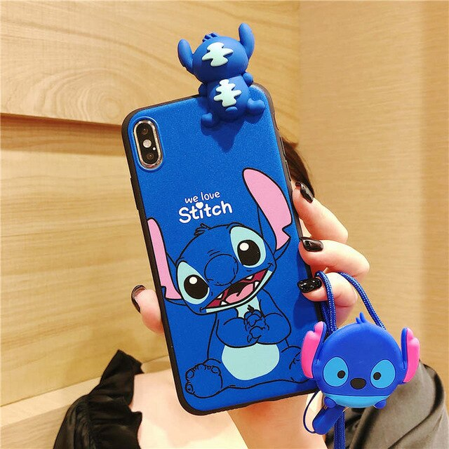 SUPER CUTE STITCH PHONE CASE FOR IPHONE