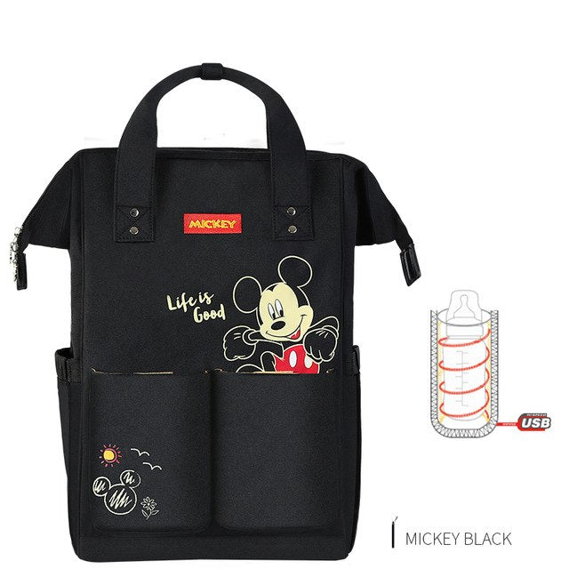 Disney Diaper Bag USB Maternity Travel