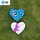stitch plush with soap flowers creative Valentine's