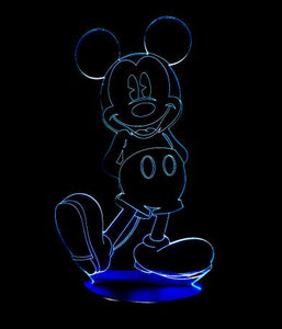 MICKEY MOUSE 3D LED LAMP