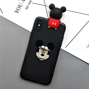 3D Mickey Minnie Phone Case For Samsung