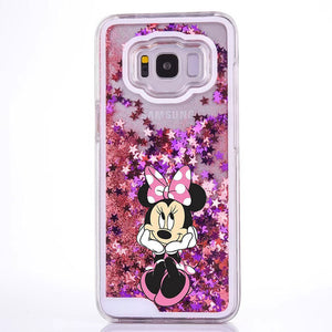 Phone Case for Samsung  Stitch Mickey Minnie