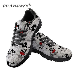 Mouse Women Sneakers Shoes