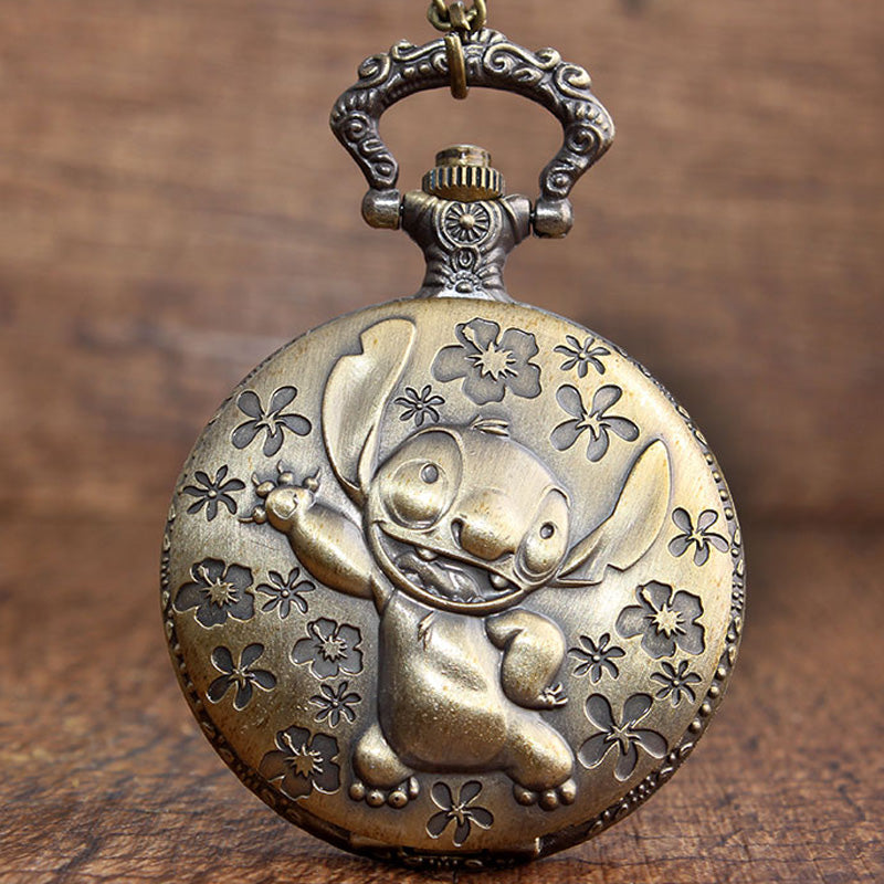 Stitch Quartz Watch + Pendant