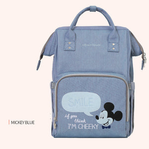 Disney USB Diaper Bag Cartoon Water-proof