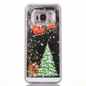 Gold Snowflake Case Christmas