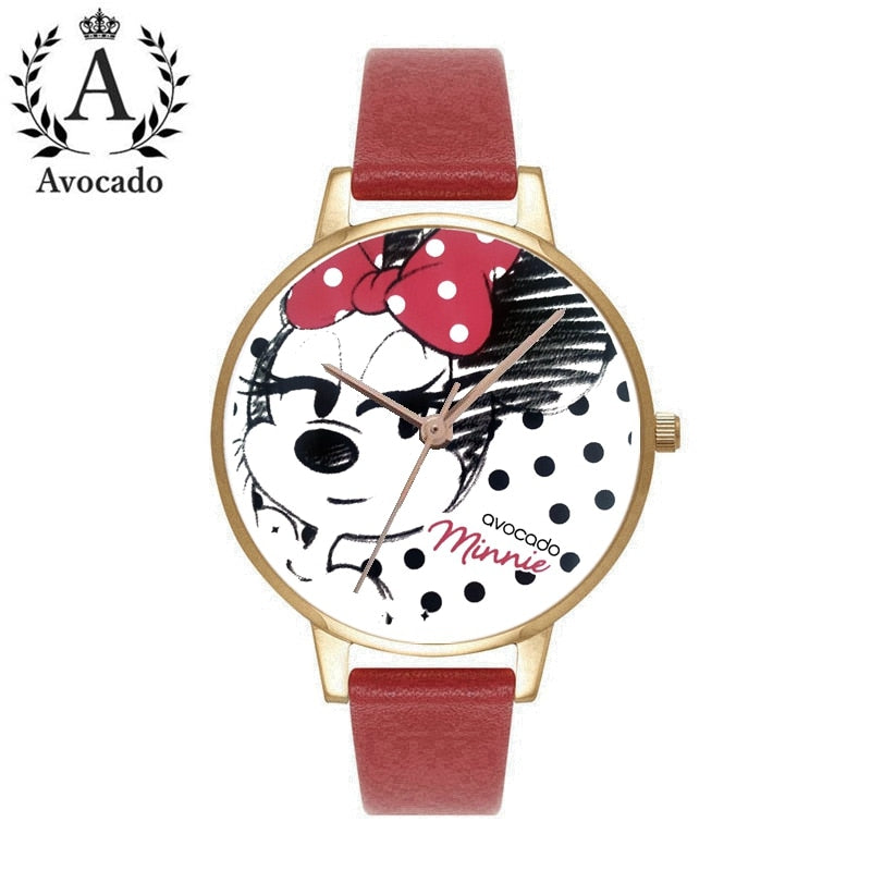 Minnie mouse cartoon watches