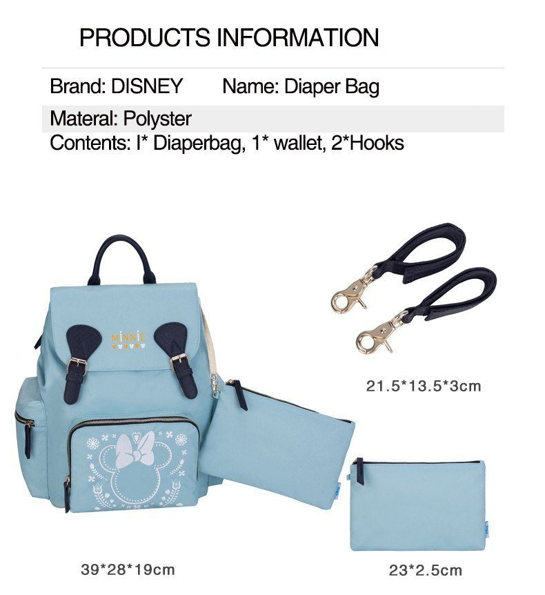 Water-proof Bag Mommy Backpack Mickey