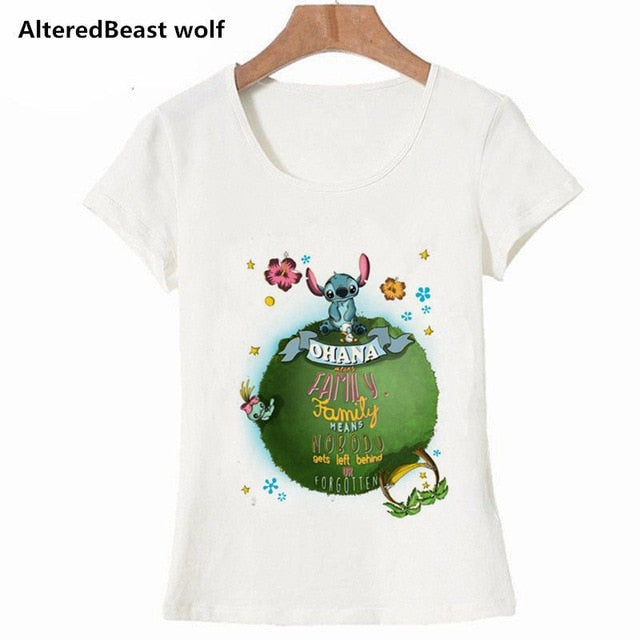 2019 Women Shirt Lilo & Stitch