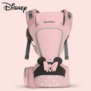 Disney  Ergonomic All Seasons Front Back Baby Carrier Backpack with Hip Seat