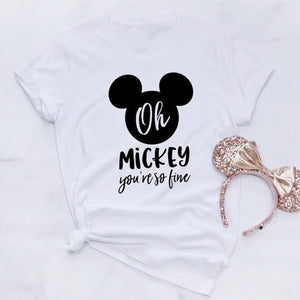 Oh Mickey You So Fine T Shirt