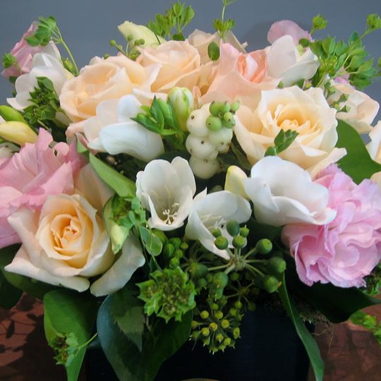 Sweet scented posy box