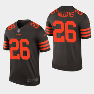 competitive price 54bb2 6d315 Cleveland Browns Stitched Greedy Williams Color Rush Jersey