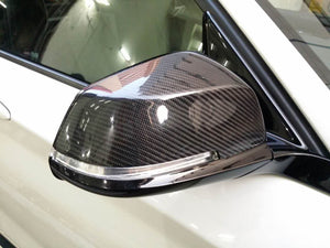 BMW F20 F21 F22 F23 F87 F30 F31 F32 F33 F34 F36 M Performance Mirror Caps - Carbon Fiber