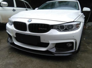 BMW F32 F33 F36 M Performance Front Lip + Splitters - Carbon Fiber