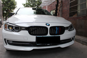 BMW F30/ F31 3 Series Grilles - Gloss M Stripes