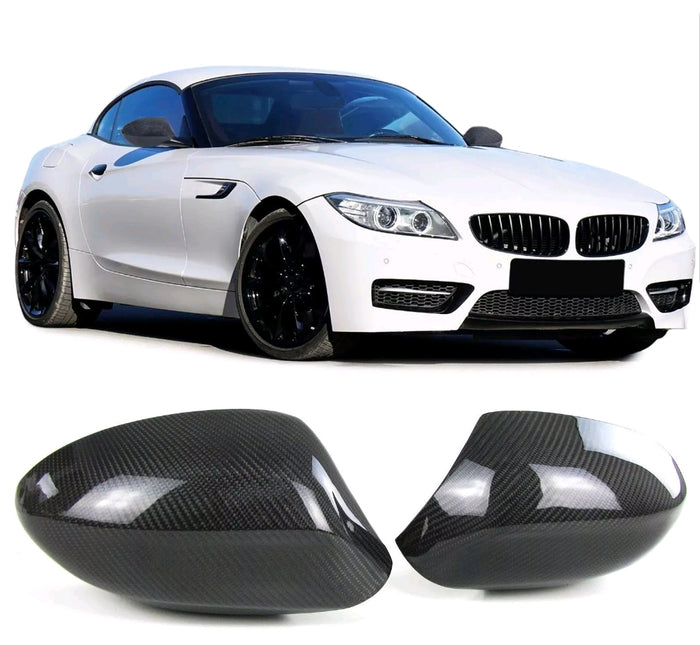 BMW E89 Z4 Replacement mirror caps - Carbon Fiber