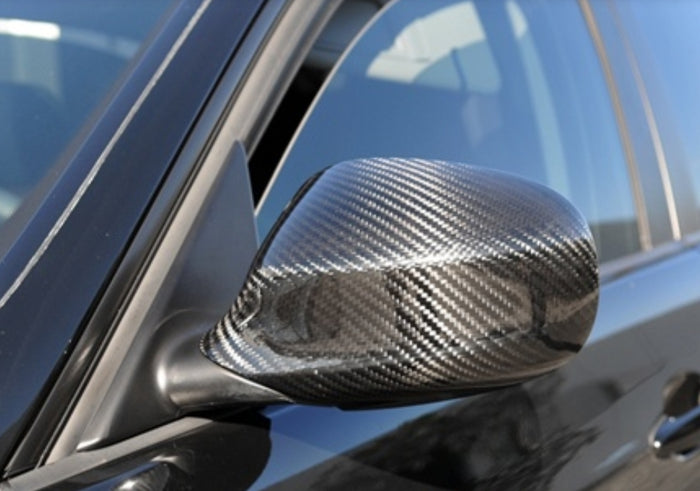 BMW E90 PRE LCI Replacement Mirror Caps - Carbon Fiber