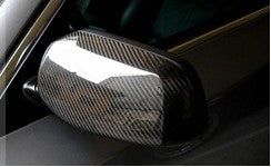 BMW E60 PRE LCI Replacement Mirror Caps - Carbon Fiber