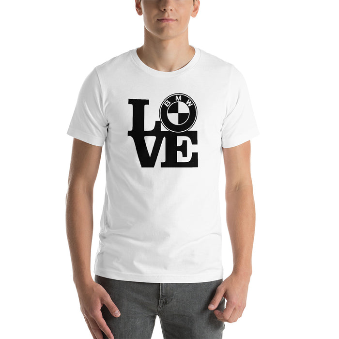 Love BMW Short Sleeve  T-Shirt