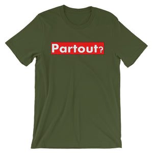 Red Partout Banner T-Shirt